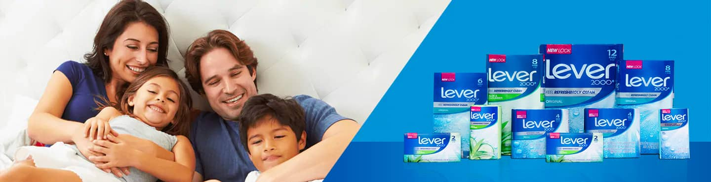 Lever 2000 - Discover the essential soap for the whole family